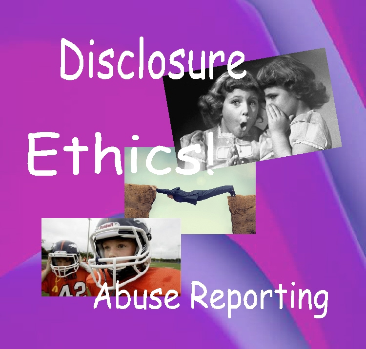 disclosure ethics abuse reporting